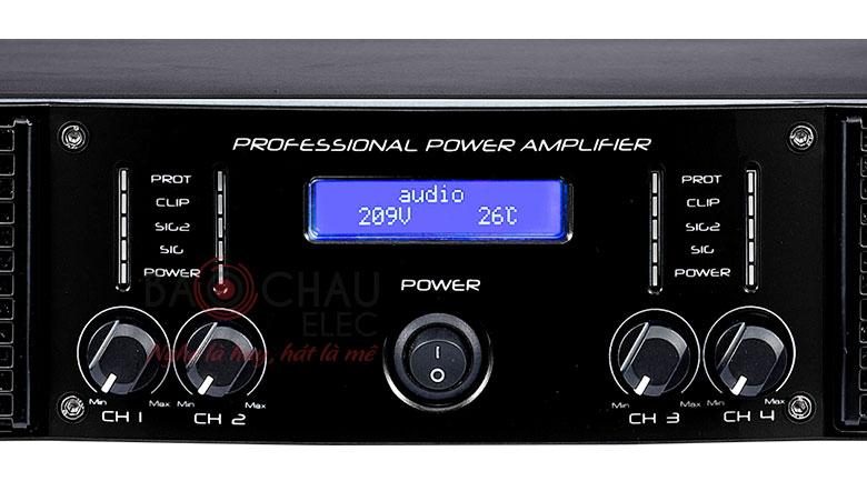 Cục đẩy công suất AAP TD6004 cho chất lượng âm thanh hoàn hảo