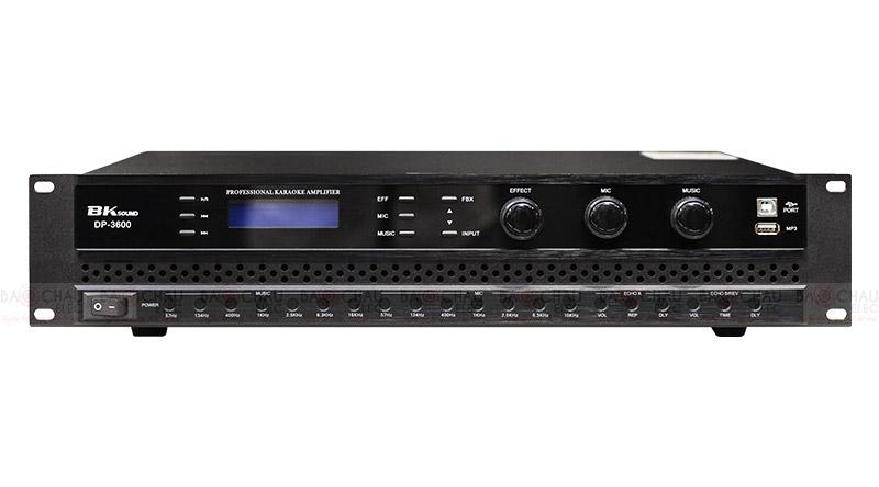 Cục đẩy liền vang BKsound DP3600 sở hữu thiết kế hiện đại