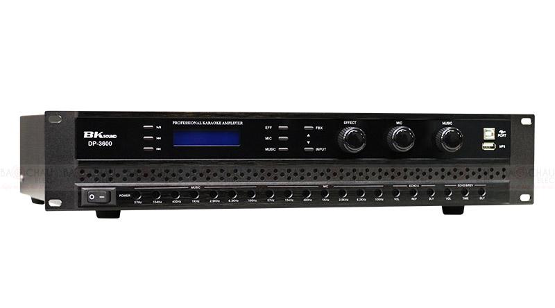 Cục đẩy liền vang BKsound DP3600 xử lý âm thanh chuyên nghiệp