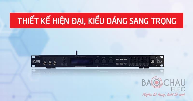Vang số BCE DSP 9200+ Bluetooth thiết kế đẹp
