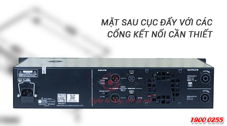 SAE CT3000 dễ dàng kết nối với các thiết bị khác