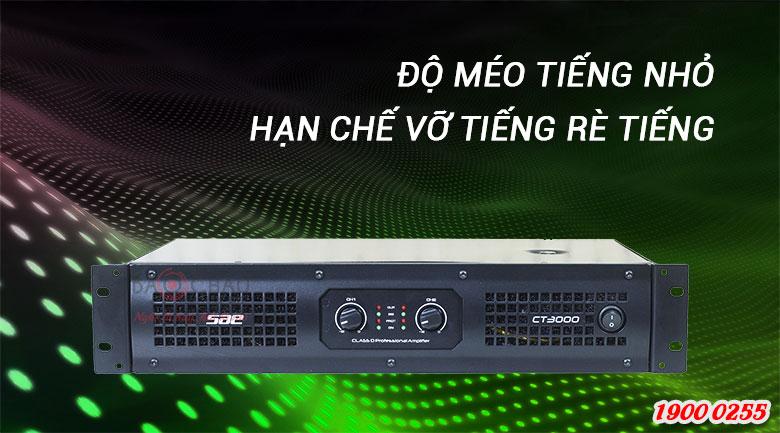Cục đẩy SAE CT3000cho méo tiếng cực thấp