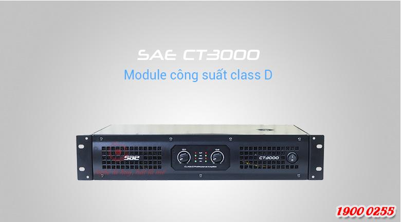 SAE CT3000 được trang bi mạch khuếch đại class D