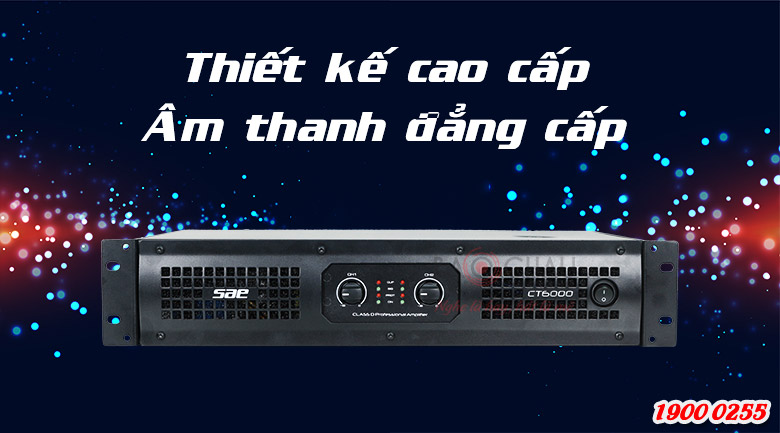 Cục đẩy công suất SAE CT6000 công suất lớn, giá rẻ