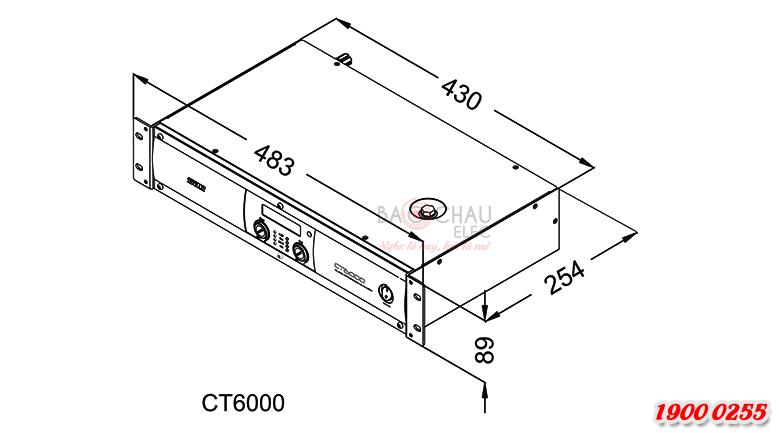 Cục đẩy SAE CT6000 chính hãng giá tốt