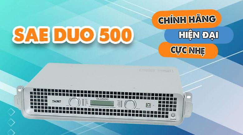 Cục đẩy SAE Duo500 chính hãng, hiện đại