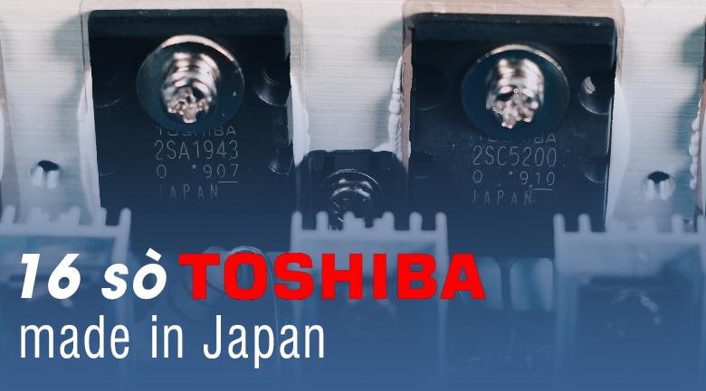 Đẩy liền vang BKSound DP3500 trang bị 16 sò toshiba