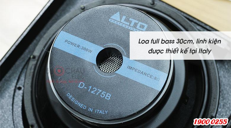 Loa Alto AT2000 với củ bass 30cm