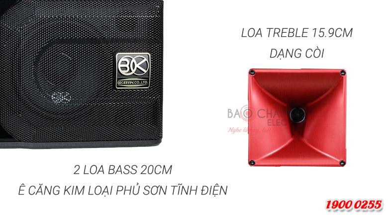 Loa BIK BP S35 trang bị loa treble dạng còi 15.9cm