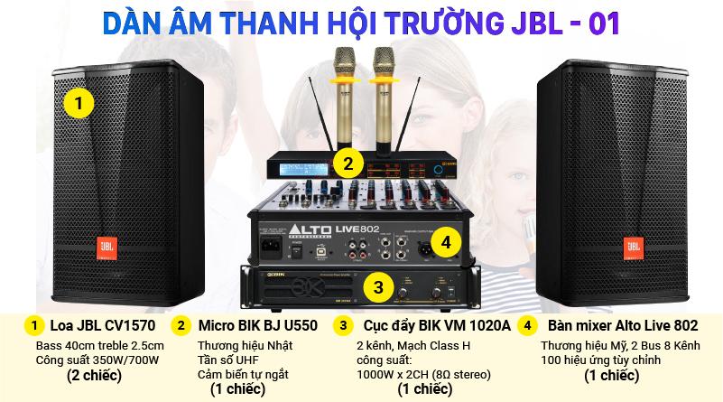 Dàn âm thanh hội trường JBL-01