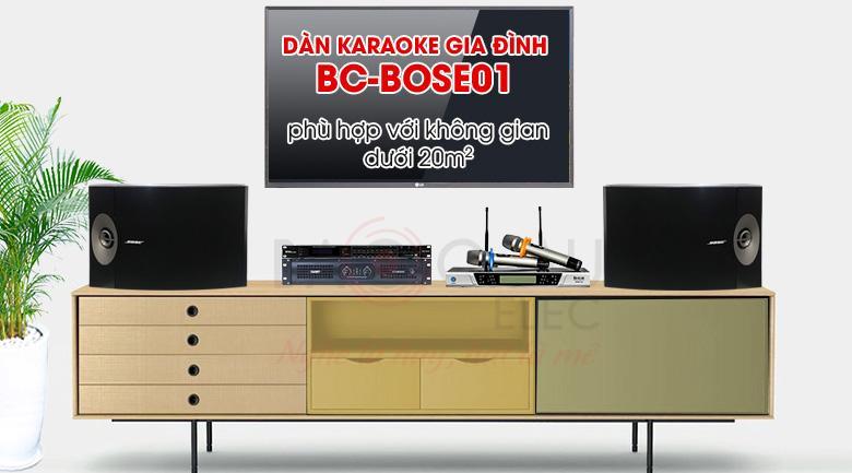 Dàn karaoke bose giá rẻ hát karaoke cực hay