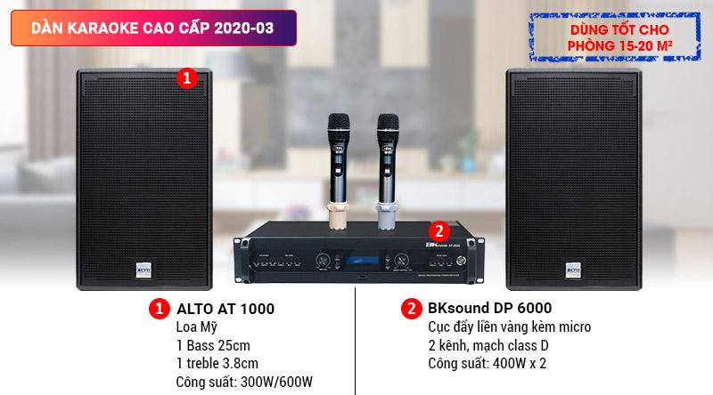 Dàn karaoke cao cấp 2020-03