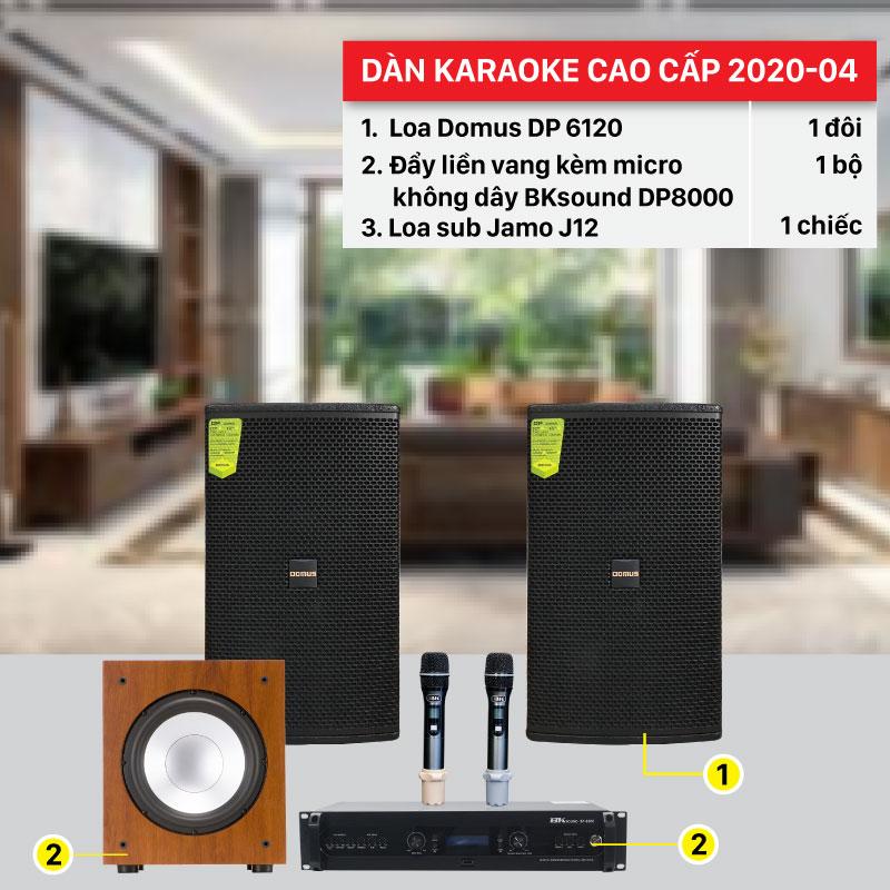 Dàn karaoke gia đình cao cấp hay nhất