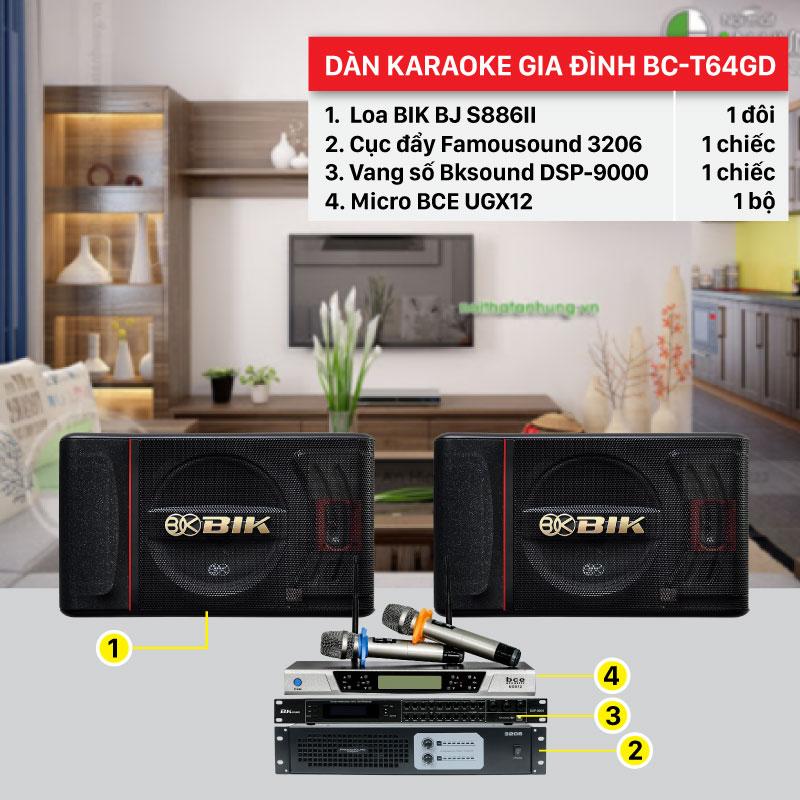 Dàn karaoke gia đình cao cấp giá rẻ hát cực hay