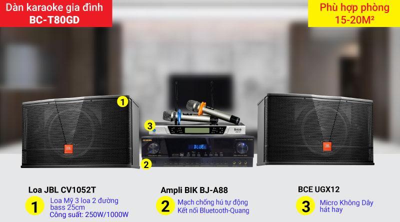 Dàn karaoke gia đình cao cấp giá rẻ