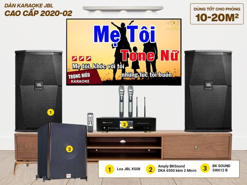 Dàn karaoke JBL cao cấp 2020-02