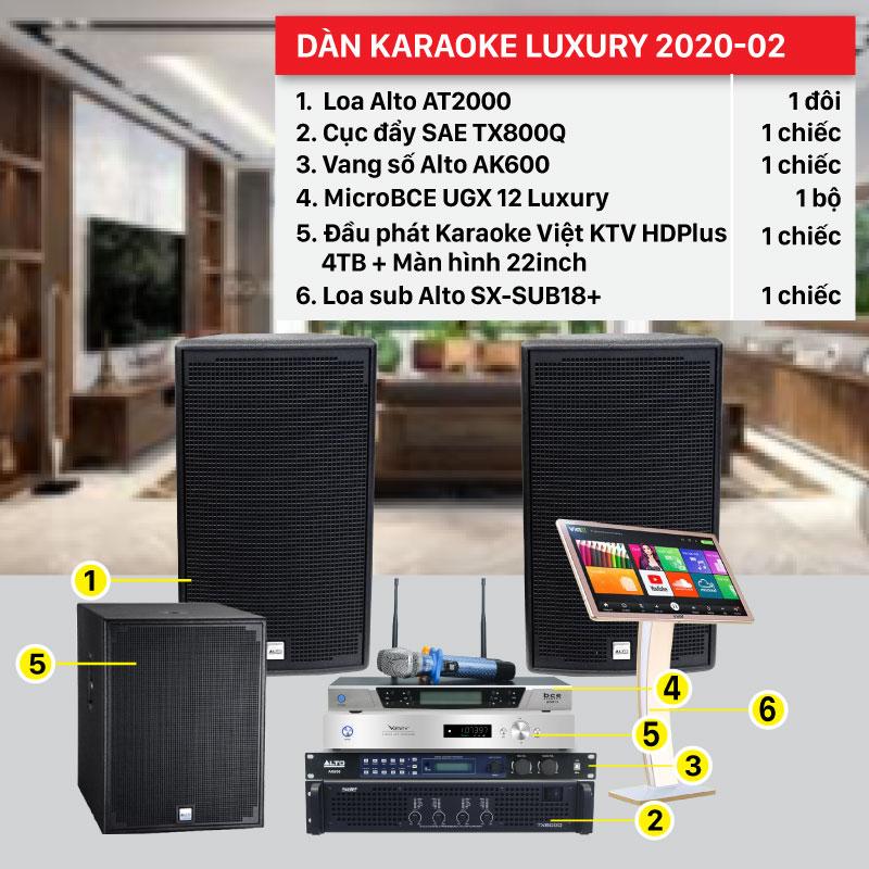 Dàn karaoke gia đình cao cấp giá rẻ nhất