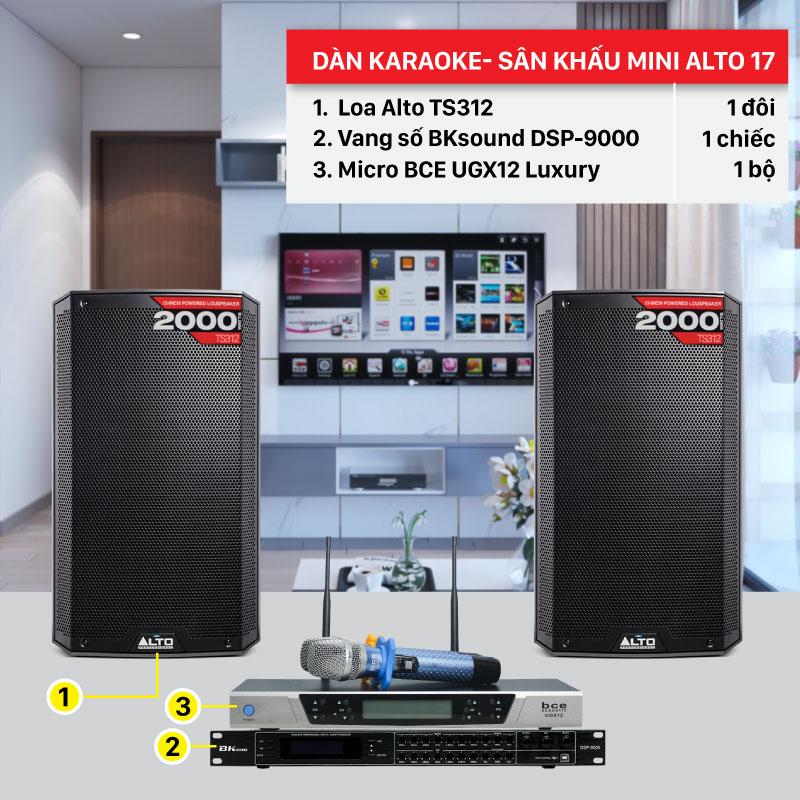 Dàn karaoke BC-Alto 17 chính hãng, giá rẻ nhất