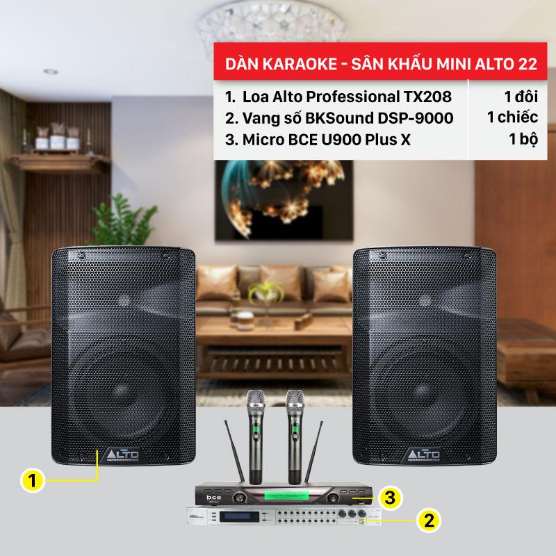 Dàn karaoke giá rẻ chất lượng tốt