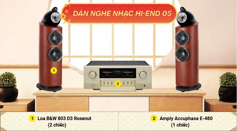 Dàn nghe nhạc Hi-end 05