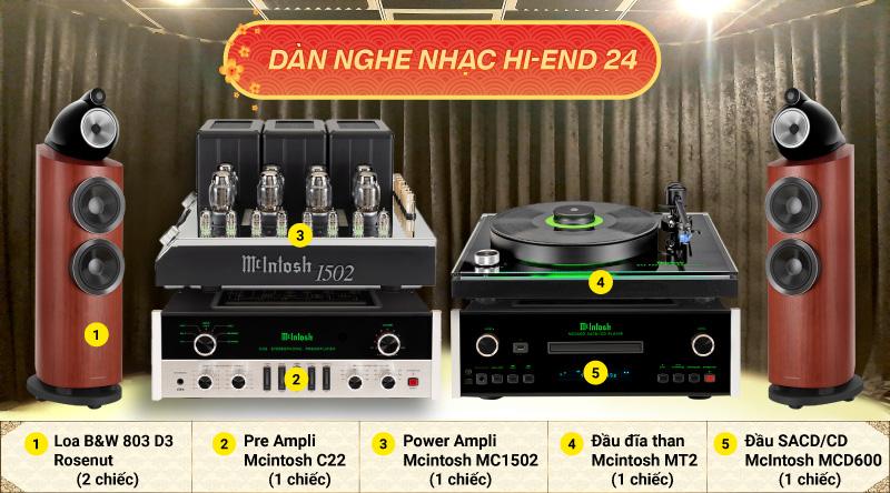 Dàn nghe nhạc Hi-End 24