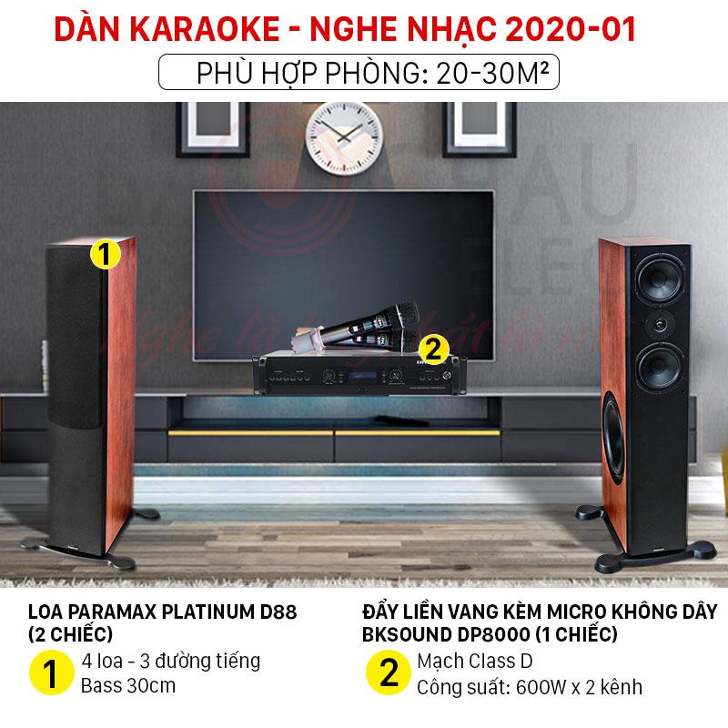 Dàn karaoke nghe nhạc 2020 giá rẻ