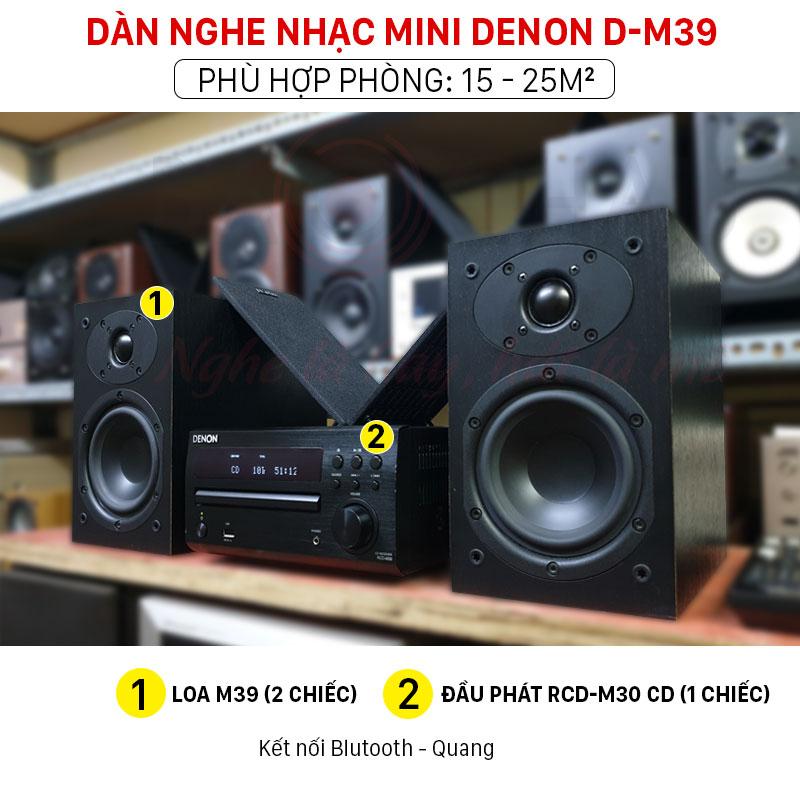 Dàn âm thanh minin Denon D-M39 chính hãng giá rẻ