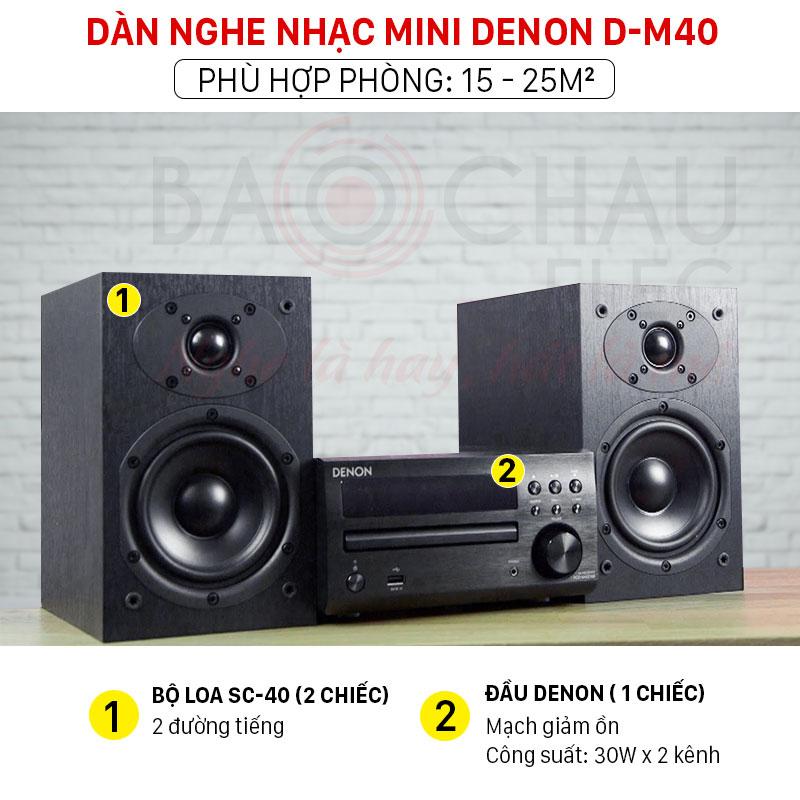 Dàn âm thanh mini Denon