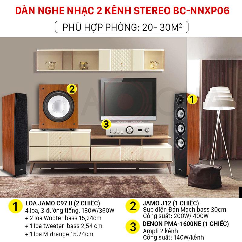 Dàn nghe nhạc 2 kênh Stereo chính hãng giá rẻ
