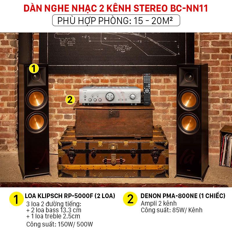 dàn nghe nhạc 2 kênh stereo giá rẻ