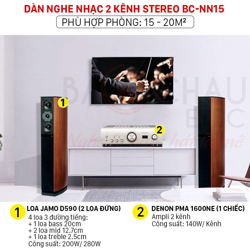 Dàn nghe nhạc 2 kênh giá rẻ chất lượng tốt