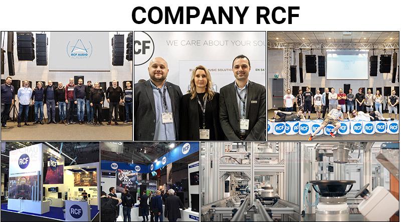 Thương hiệu RCF xuất xứ Italia - nổi tiếng toàn thế giới