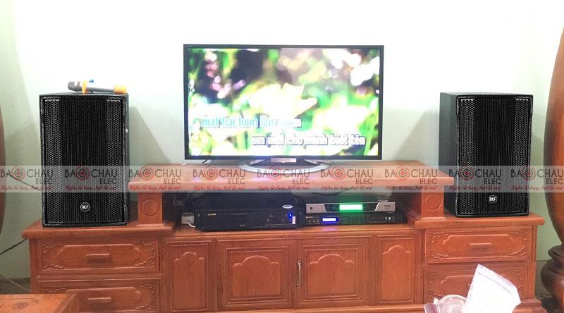Loa karaoke RCF dễ dàng kết hợp cùng các thiết bị âm thanh khác