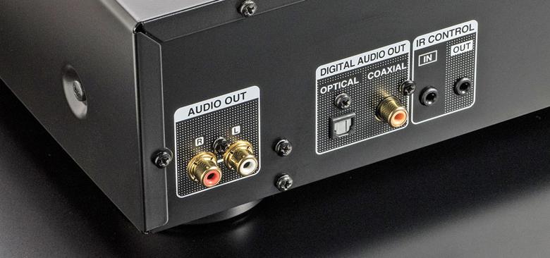 Đầu CD Denon DCD-800NE kết nối dễ dàng