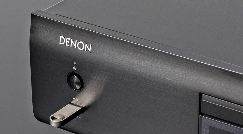 Đầu CD Denon DCD-800NE trang bị cổng kết nối usb