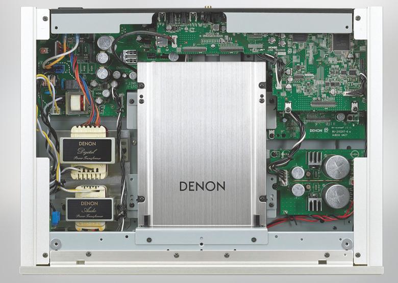 Đầu Denon DCD-2500AE trang bị mạch xử lý hiện đại