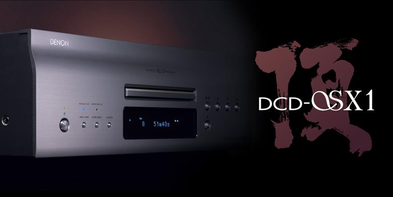 Đầu Denon DCD-SX1 sang trọng, hiện đại