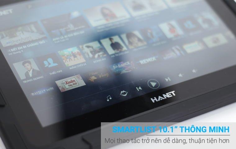 đầu karaoke Hanet BeatX pro 6TB thông minh