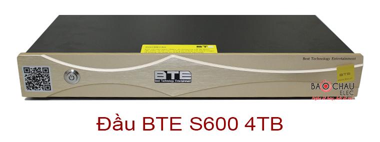 Đầu BTE S600 4TB thiết kế hiện đại