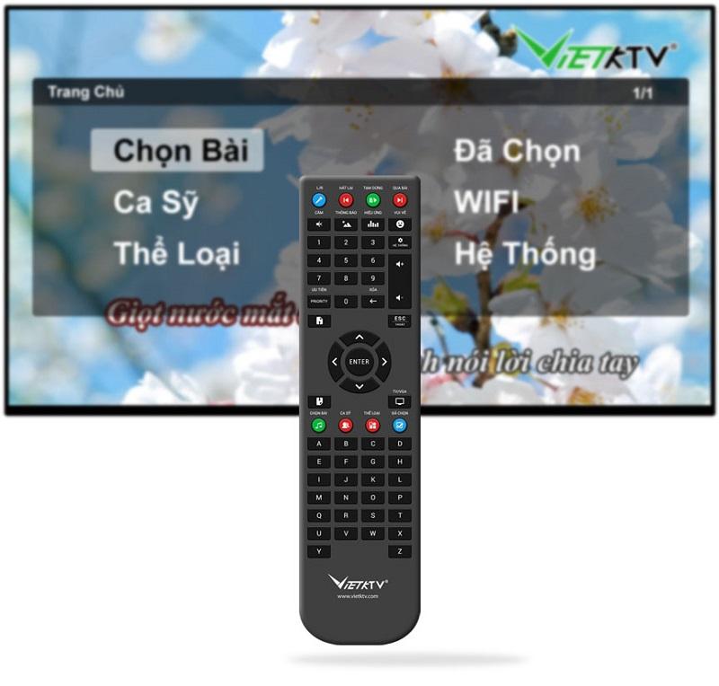 Remote Đầu việt KTV HD Plus 6TB