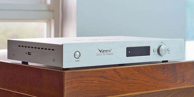 đầu karaoke VietKTV HD Plus 3TB hiện đại
