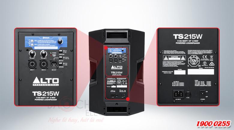 Loa Alto TS215W dễ dàng sử dụng