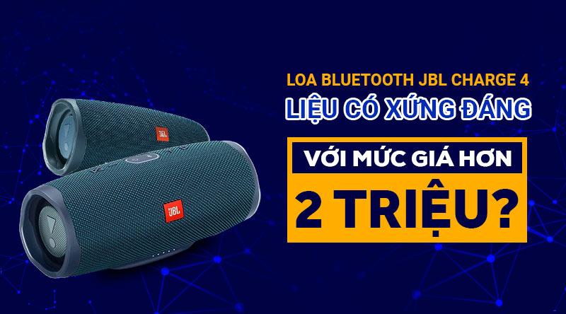 loa bluetooth jbl charge 4 chính hãng