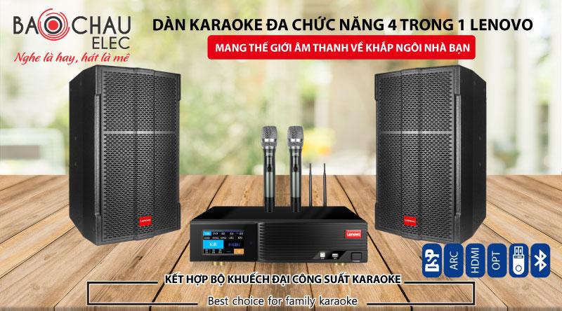Combo karaoke lenvo chính hãng giá rẻ
