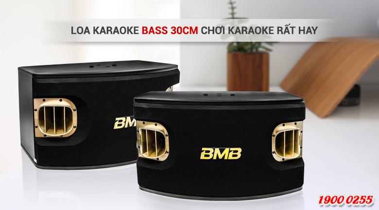 Loa karaoke BMB CSV 900SE sở hữu đường kính loa bass 30cm