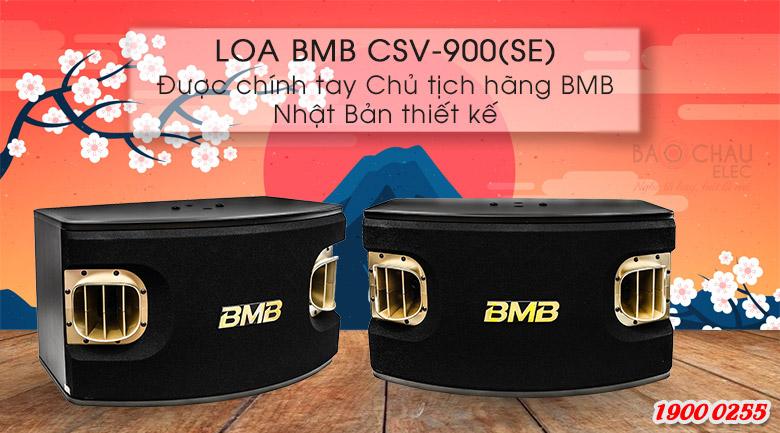 Loa karaoke BMB CSV 900SE được thiết kế bởi chỉnh chủ tịch của BMB