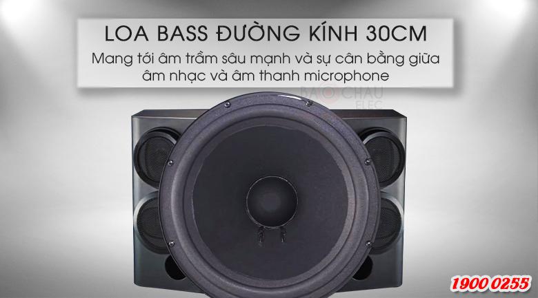 BMB CSE-312 Được thiết kế loa bass 30cm cùng công suất cực đại 800W