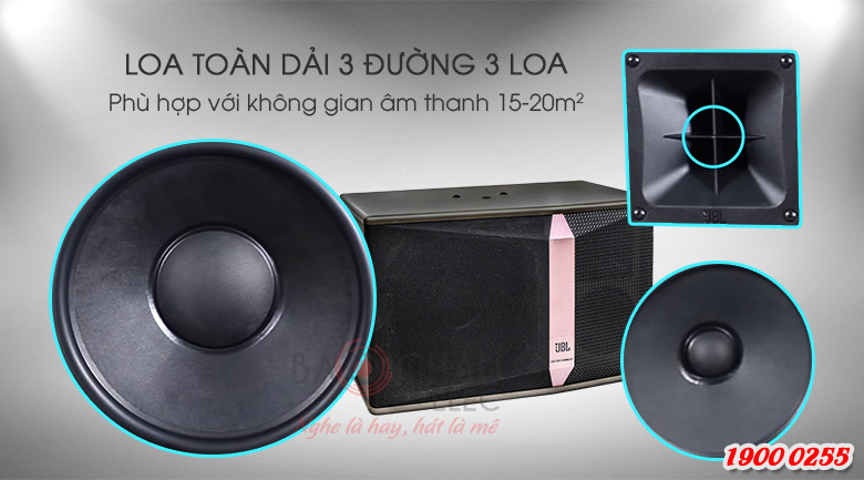 Loa Karaoke JBL Ki510 Bass 25 chính hãng giá rẻ