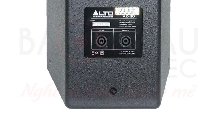 Loa karaoke Alto Ak110 chất âm tốt