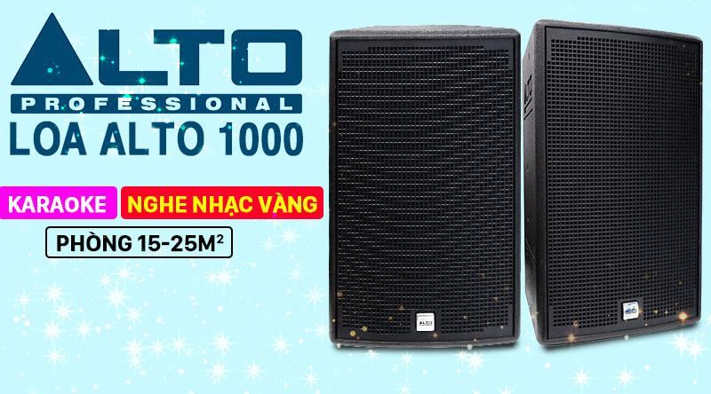 Loa karaoke Alto AT1000 thương hiệu Mỹ
